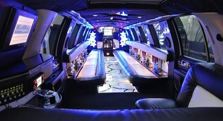 Inside the Lincoln Navigator Poznan