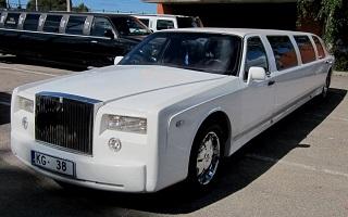 Rolls Royce Phantom Limousine, Riga
