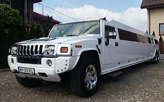 Hummer Limousine in Warsaw