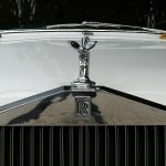 Front of a Rolls Royce