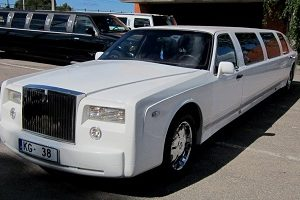 Rolls Royce Limousine, Prague